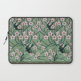 Almond Blossoms Walter Crane vintage Laptop Sleeve