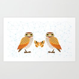 Owletry Art Print