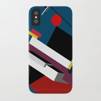 kandinsky iPhone & iPod Cases featuring STARSHIP by THE USUAL DESIGNERS