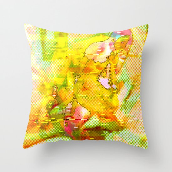 Let Me Check My Calendar < The NO Series (Yellow) Throw Pillow