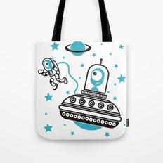space Blue! Tote Bag