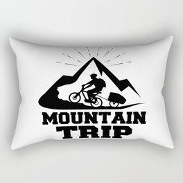 Mountain trip Rectangular Pillow
