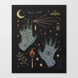 A Curse Upon You! Canvas Print