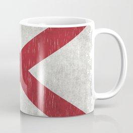 State flag of Alabama - Vintage version Coffee Mug