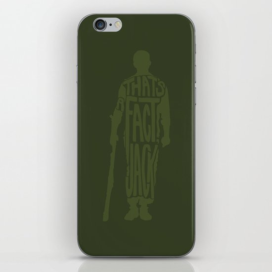 That's a Fact, Jack! -Stripes iPhone Skin