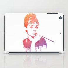 Audrey Hepburn Breakfast At Tiffany's iPad Case