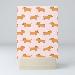 Sausage Dog  Mini Art Print