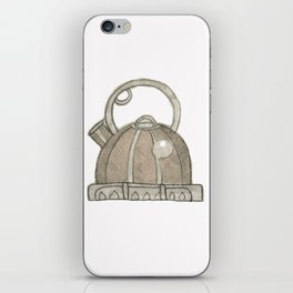 When teapots whistle iPhone Skin