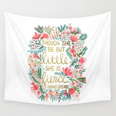 Little & Fierce Wall Tapestry