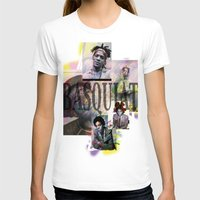 basquiat T-shirts featuring Basquiat by Andrew Spangler