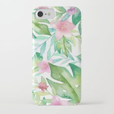 FLOWERS WATERCOLOR 17 iPhone 8 Slim Case