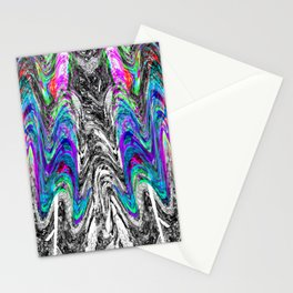 Abstract Portrait of a Migraine Aura 2 Stationery Cards