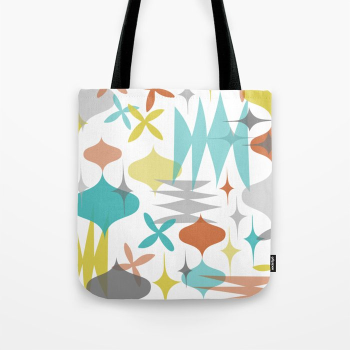 Mod Sketches Yellow Tote Bag