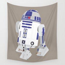 R2-D2 (Vector Art) Wall Tapestry