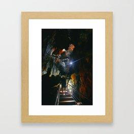 The Cave Pt2 Framed Art Print