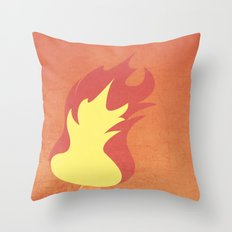 Charrmander! Throw Pillow