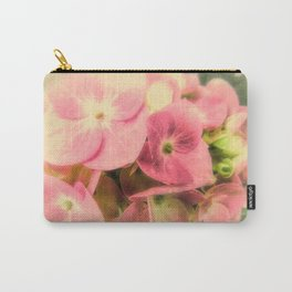 Pink Hydrangea Flower Modern Cottage Modern Country Art A441 Carry-All Pouch