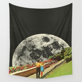 Moonwalk love Wall Tapestry