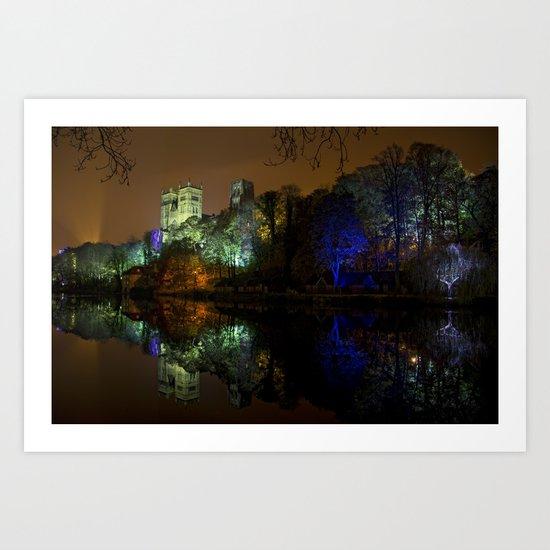 Durham Lumiere Art Print