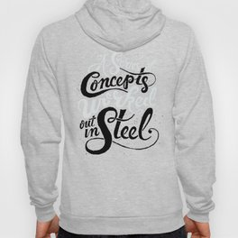 A Series of Concepts Worked Out in Steel Hoody