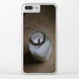 Milked Clear iPhone Case