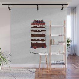 Let Them Eat Cake, Dessert Art Wall Mural