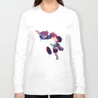 ponyo Long Sleeve T-shirts featuring Ponyo by lauramaahs