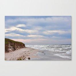 Michigan beach Canvas Print