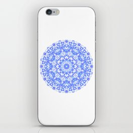 Mandala 12 / 1 eden spirit indigo blue iPhone Skin