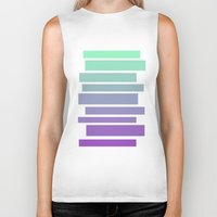 ombre Biker Tanks featuring Ombre by Miranda Williams