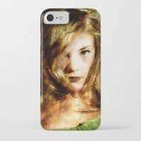thrones iPhone & iPod Cases featuring Portrait of Natalie Dormer (tutors / game of thrones) by André Joseph Martin
