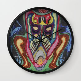 Yoni Connection  Wall Clock