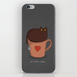 My Cat - If it fits, I sits iPhone Skin