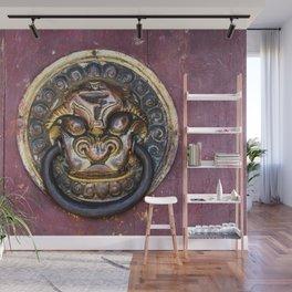 Knock knock - Erdene Zuu door knocker Wall Mural