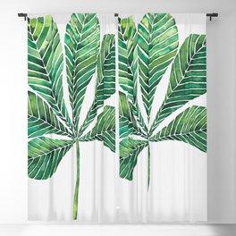 Chestnut leaf Blackout Curtain