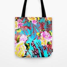 Coral Roses Tote Bag