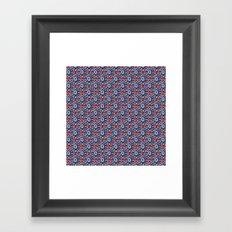 Bright and Bold Stars Framed Art Print