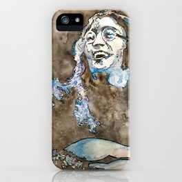 Rooftop John Watercolor iPhone Case