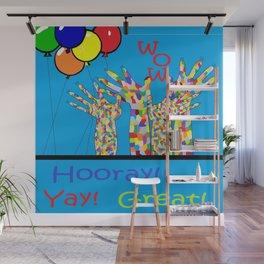 ASL Yay! Wall Mural
