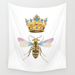 Watercolor Queen Bee, By Heidi Nickerson Wall Tapestry