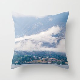 Landscape of Italy Throw Pillow