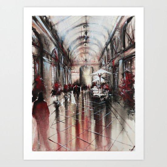 Panoramas Art Print