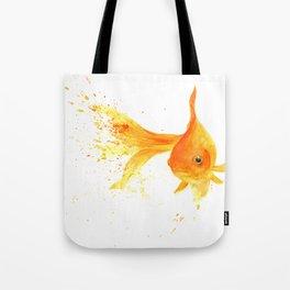 Colorful Goldfish Tote Bag
