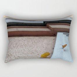 two leaves fall Rectangular Pillow