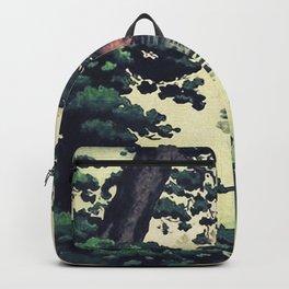 Autumn Rain in Yama Backpack