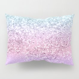 Unicorn Girls Glitter #4 #shiny #pastel #decor #art #society6 Pillow Sham