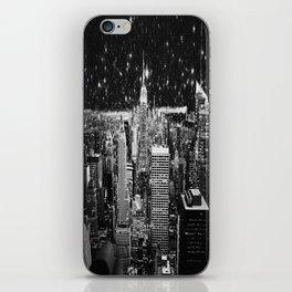 Starry Night in New York iPhone Skin