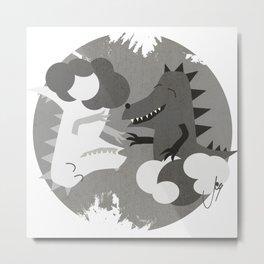 Kyin & Kyang Metal Print