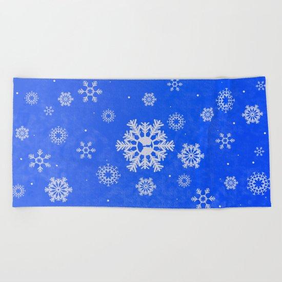 Winter Beach Towel