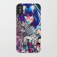 barachan iPhone & iPod Cases featuring tough by barachan